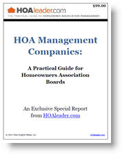 HOA Policies Special Report Cover