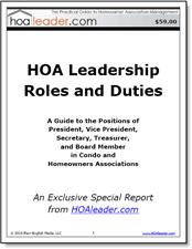 HOA Leadership Roles and Duties