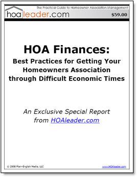 HOAleader com - Practical Advice on Homeowner Association