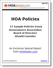 HOA Policies: 17 Sample Policies Every Homeowners Association ...